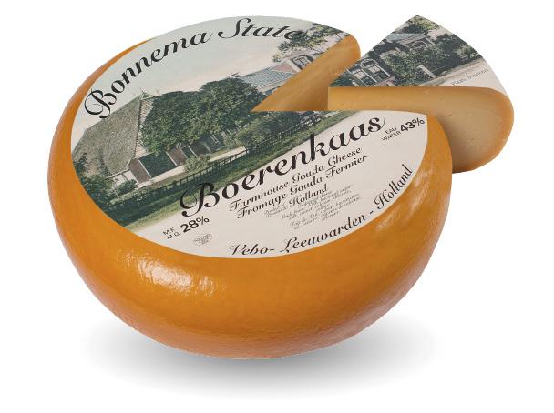 Farmhouse cheese aged