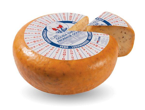 Gouda cheese spiced